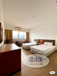 Room Rental in Kuala Lumpur - intimate Spacious 3 STAR Master Hotel Room at Chow Kit - ( Nearby Hospital KL & UUM )