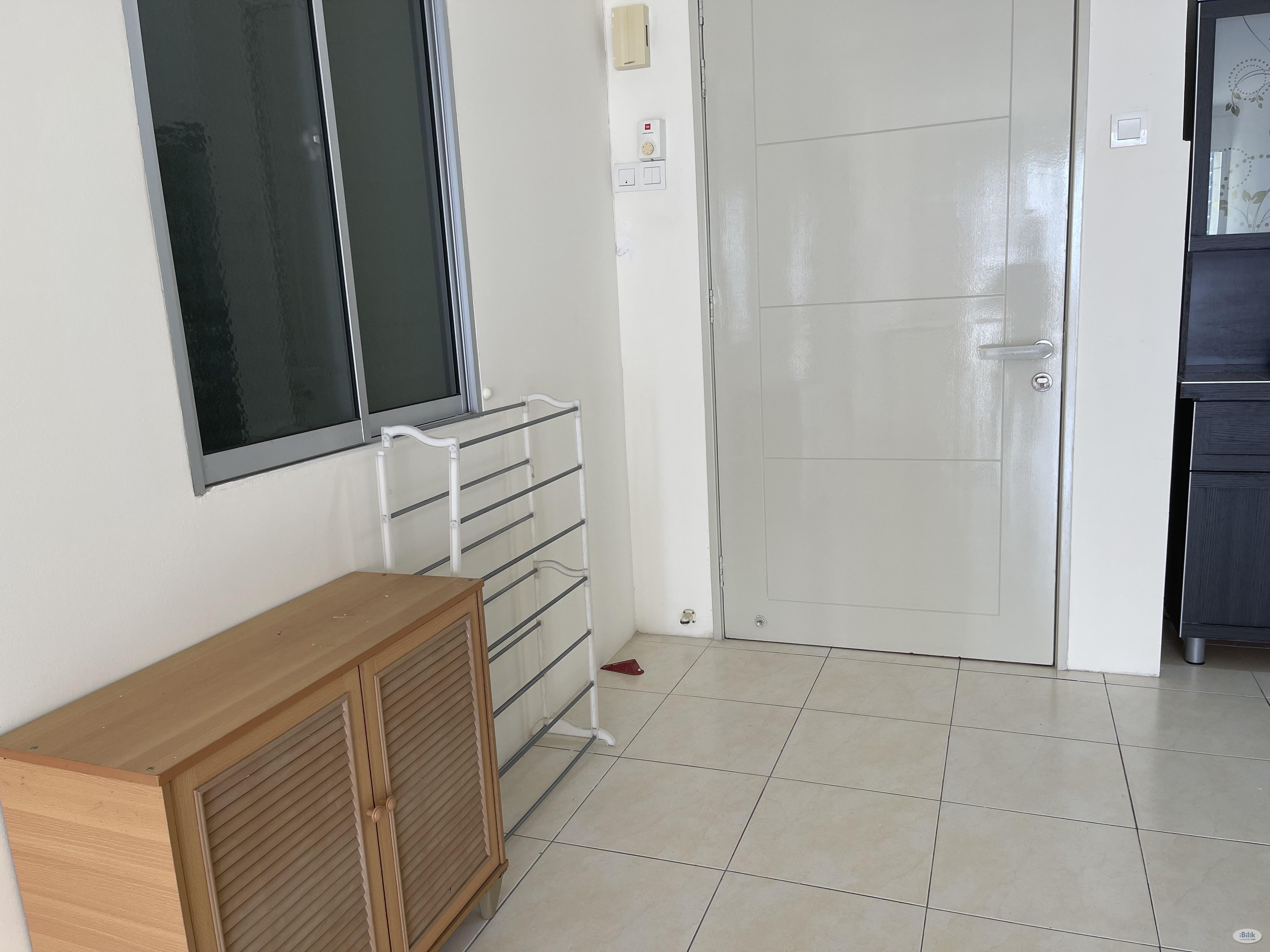 PV13 Condominium Block A Middle room with partial furnished TARUC University Lrt Wangsa Maju Setapak PV128