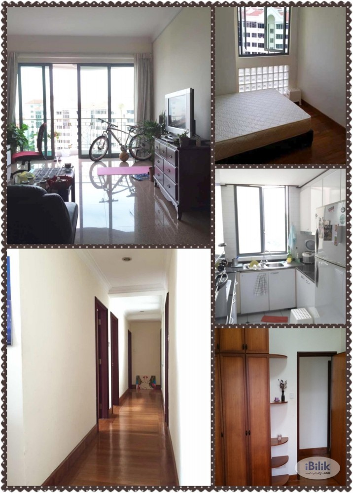 Single Room at Beauty World, Upper Bukit Timah, Condo room for rent 850 all include