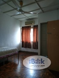 Room Rental in Malaysia - Free Deposit & Frist Month Rental, Middle Room at SS24 Petaling Jaya, Nearby Pasar Taman Megah