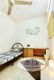 Room Rental in Petaling Jaya - intimate Single Room Zero Deposit Weekly Cleaning @ SS20