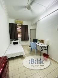 Room Rental in Petaling Jaya - 0% Deposit !! Bandar Utama PJ Medium Room for rent