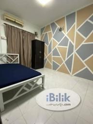 Room Rental in Petaling Jaya - comfy 1 Month Deposit !~ Middle Room at SS7, Kelana Jaya Near Paradigm Mall