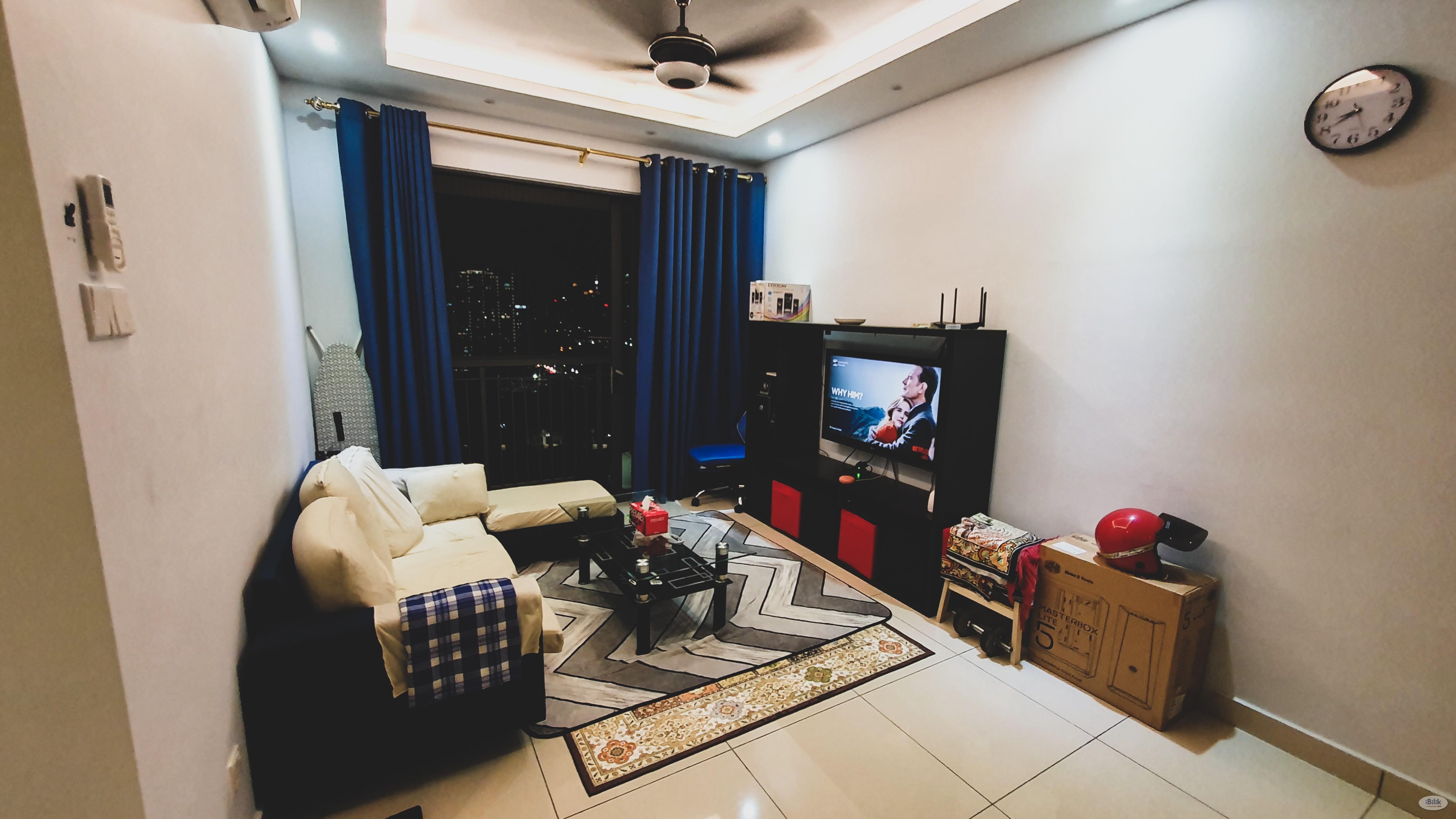 Single Room at KL Traders Square, Setapak