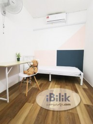Room Rental in Malaysia - cushy Middle Room at TTDI, Kuala Lumpur