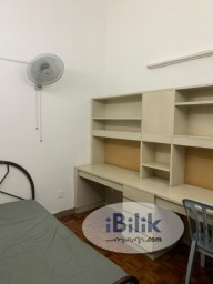 Room Rental in Malaysia - intimate No Deposit! Single Room in ss24, Kelana Jaya Near LRT Station