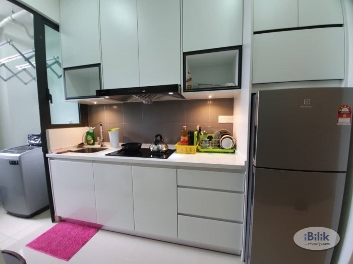 Setapak Big Twin Couple Room with Great View Fully Furnished