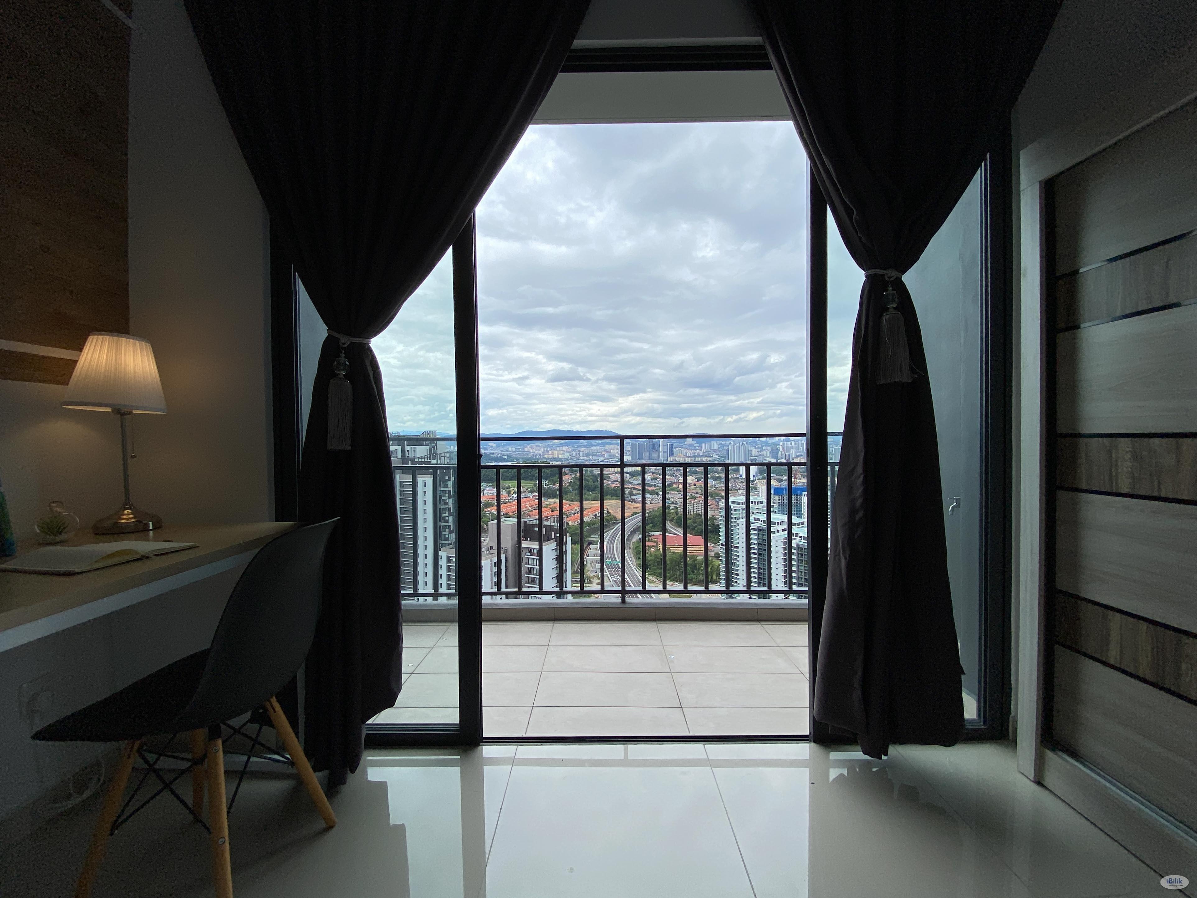 Middle Balcony Room at Wangsa Maju, Setapak