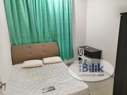 Room Rental in Malaysia - Fully Furnished Clean Middle Room at Mutiara Ville. Cyberjaya