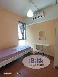 Room Rental in Malaysia - Ready Move In. Fully Furnished Single Room for Rent SS15 Subang Jaya