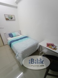 Room Rental in Penang - Zero Deposit Single Room at Solaria Residence, Bayan Lepas