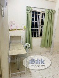 Room Rental in  - Prima setapak  A block  MIDDLE room for rent , Move in anytime
