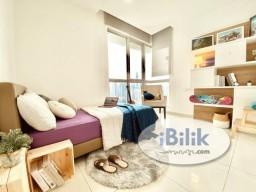 Room Rental in KL City Centre - RENT Regalia Rooftop Pool KL City, No Deposit, Near LRT, Sunway Putra Mall