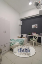 Room Rental in KL City Centre - No Deposit Regalia Residence, Fully Furnished , Cheap Room From RM 650 In KL city, 1 Min To LRT PWTC