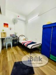 Room Rental in  - Cozy 1 Month Deposit !! Taman Mutiara Barat can be walking to MRT