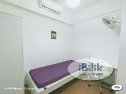 Room Rental in Selangor - Cozy 1 Month Deposit !! Low Rental. Middle Room at SS15, Subang Jaya