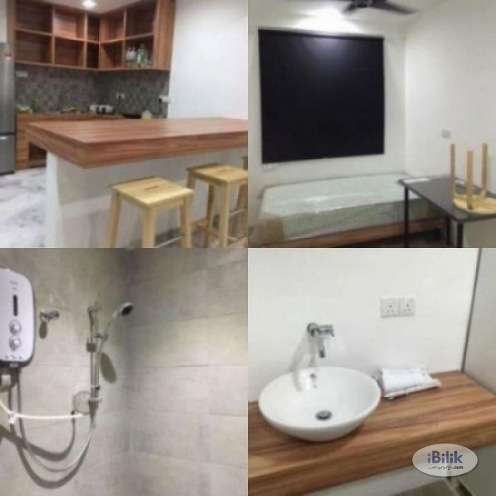 Fully Furnished Middle Room W Private Attached Bathroom at PJS 9- Bandar Sunway