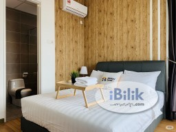 Room Rental in Malaysia - Master Room Free Deposit in Chymes Residences, Keramat Easy Access LRT Station