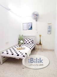 Room Rental in Kuala Lumpur - Small Room - Zero Deposit Packages - Mutiara Bukit Jalil (Walking Distance to LRT Station)!