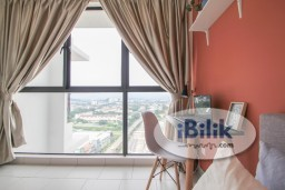 Room Rental in Selangor - *ZERO DEPOSIT MOVE IN*Super Nice Deisgn Fully Furnished Middle Room W/Aircond&Window @ Astetica Seri Kembangan Walking Distance to The Mines Mall