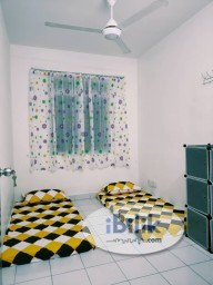 Room Rental in Selangor - Middle Room at Puteri Palma 1, Putrajaya