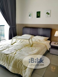 Room Rental in Kuala Lumpur - 7 Mins Walk to LRT Muhibbah Station. Middle Room with Balcony at Casa Green, Bukit Jalil