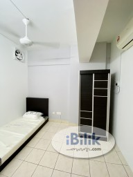 Room Rental in Kuala Lumpur - Vista komanwel B, small room for rent, near LRT, near IMU, include all utilities, wifi n ac.