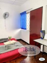 Room Rental in Puchong - ZERO DEPOSIT - Middle Room at Taman Wawasan- Pusat Bandar Puchong