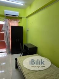 Room Rental in Kuala Lumpur - Low Cost Single Room at Vista Komanwel, Bukit Jalil
