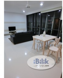 Room Rental in Kuala Lumpur - Middle room with private bathroom for rent at The Capers fennel close to klcc KL sentral Publika mont kiara sunway putra mid valley