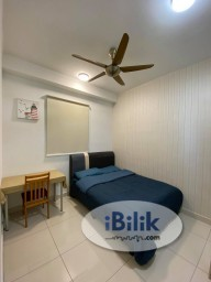 Room Rental in Johor - ⭐DIRECT OWNER⭐ FULLY FURNISHED⭐FEMALE ONLY⭐UTILITY FEE INCLUDED⭐ Middle Room at The Raffles Suites @ Sutera Utama, Skudai, Johor Bahru⭐ Sutera Mall