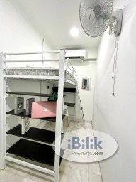 Room Rental in Kuala Lumpur - WOW, Loft Bed Room 🤩🛌🏻 Suit Your Lifestyle with Fully Furnished & Affordable Room at Bukit Bintang area 😎✨ NO DEPOSIT
