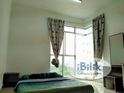 Room Rental in Kuala Lumpur - *FEMALE UNIT/5mins to LRT* FF Master room @ Bukit Jalil, Kiara Residence 2