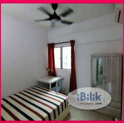 Room Rental in Malaysia - (included utility) Medium Room at Bukit Jalil