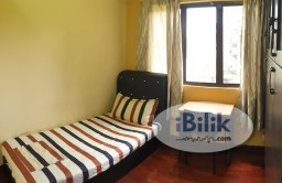 Room Rental in Selangor - Nice Single Room, Fully Furnished, All Inclusive, Cyber Heights Villa