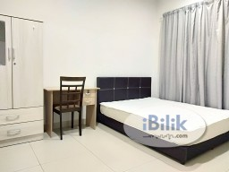 Room Rental in Selangor - Univ 360 Place Seri Kembangan BIG Middle Room For Rent, Nearby Taman Bukit Serdang Jaya, The Mines