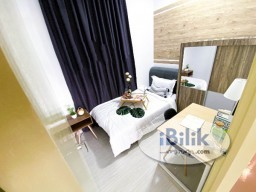 Room Rental in Kuala Lumpur - FULLY FURNISHED AIRCON SINGLE ROOM