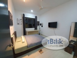 Room Rental in Kuala Lumpur - 500mps internet wifi speed free aircond usuage single room hamilton 700