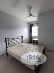 Room Rental in Seberang Perai - Fully furnished Master Room with aircon, private bathroom n wifi near Autocity ,Bukit Tengah & Iconcity Bukit Mertajam