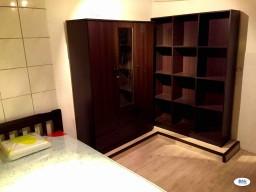 Room Rental in Malaysia - Single Furnished (24x7 security+Wifi+Good$) walkable to MRT