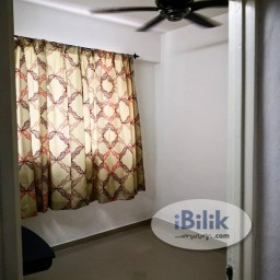 Room Rental in Penang - Single Room at Desa Rahmat Apartment, Relau
