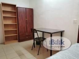 Room Rental in Selangor - SS15 opp Subang Parade – own bath n fully furnished room