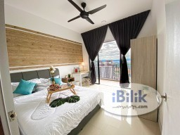 Room Rental in Setapak - 🏡WORK FROM HOME FRIENDLY!🥰PREMIUM BALCONY SUITE! DIRECT LINK BRIDGE TO LRT! SAME LINE TO KLCC/KL SENTRAL/MID VALLEY!