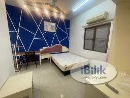 Room Rental in Petaling Jaya - [Short term welcome] Medium room Palmville Condominium