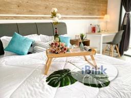 Room Rental in Kuala Lumpur - 😱DIRECT LINK BRIDGE TO LRT🚝 PREMIUM BALCONY SUITE!! SAME LINE TO KLCC/KL SENTRAL/MID VALLEY!