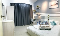 Room Rental in Kuala Lumpur - 🏠PREMIUM BALCONY SUITE😱WORK FROM HOME FRIENDLY! DIRECT LINK BRIDGE TO LRT! SAME LINE TO KLCC/KL SENTRAL/MID VALLEY!