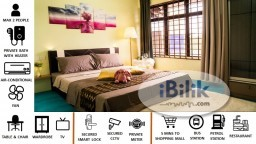 Room Rental in Johor Bahru - 【Fully Furnished Single/Double Room (Private Toilet)】at Pasir Gudang, Masai, Johor Bahru【Beside Mydin Mall & Bus Stop】