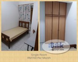 Room Rental in Kuala Lumpur - 房间出租 For APU and IMU Students - Vista Komanwel, Bukit Jalil