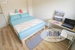 Room Rental in Petaling Jaya - Wonderful Renovated Double Story Landed House ,Fully Furnished Middle Room W/Aircond & Window @Bandar Sunway Nearby Sunway Pryamid & Subang Jaya