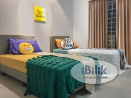 Room Rental in Cheras - comfy Bayu Tasik Master Bedroom NEAR LRT  Salak Selatan  1 Month Depo ONLY!